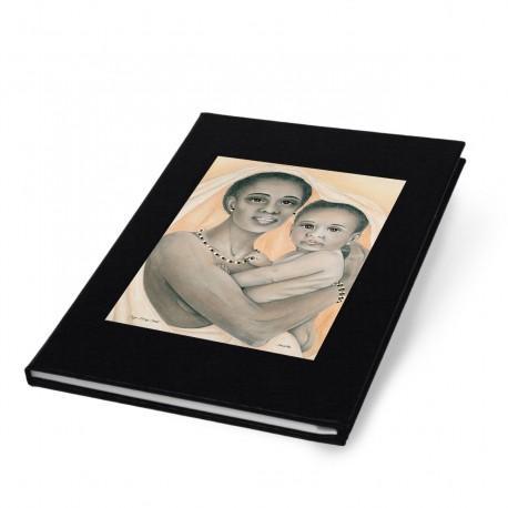 """Onyx, Ivory & Gold"" Address Book"