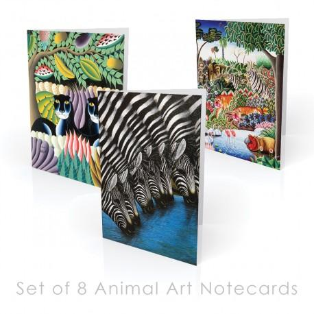 Animal-themed Boxed Note Cards