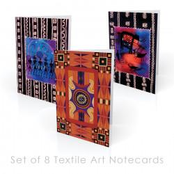Textile-themed Boxed Note Cards