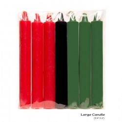 Kwanzaa Candles Large