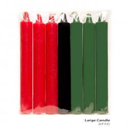 Kwanzaa Candles Large