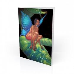 """Honey Dew Drop"" Greeting Card, artwork by Carlos Spivey"