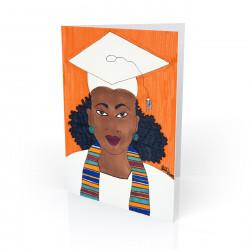 """Graduation Day"" Greeting Card, artwork by Aileen Ishmael"