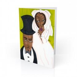"""Matrimony"" Greeting Card, artwork by Aileen Ishmael"