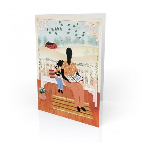 """Grandpa's Children"" Greeting Card, artwork by Bryan Greene"