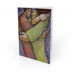 """Embrace"" Greeting Card, artwork by Charles Bibbs"