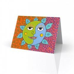 """Sunday Morning Sun"" Greeting Card, artwork by Gwendolyn Scheers"