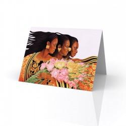 """Three Sisters"" Greeting Card, artwork by Keith Mallett"