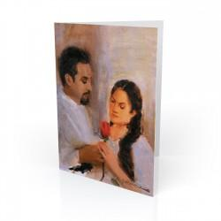 """Siempre Juntos - Always Together"" Greeting Card, artwork by Israel Martinez"