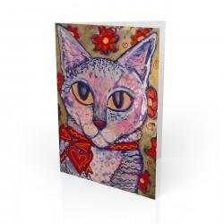 """Matisse"" Greeting Card, artwork by Tony DiAngelis"