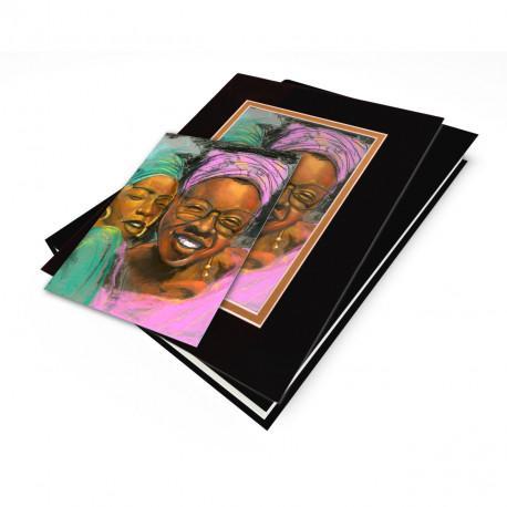 """Sisters"" Gift Set, artwork by Carlos Spivey"