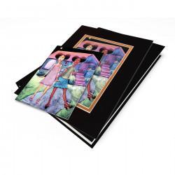 """Afropuffs"" Gift Set, artwork by Carlos Spivey"