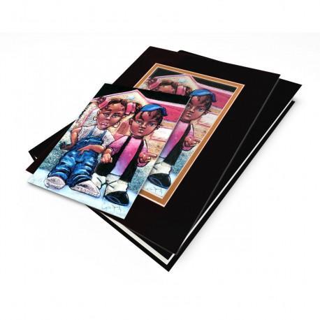 """Nahasa & Derrick"" Gift Set, artwork by Carlos Spivey"