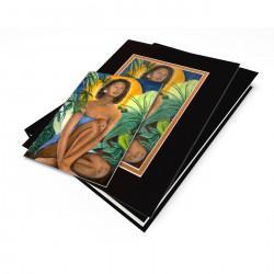 """Native Flower"" Gift Set, artwork by Carlotta Swain-Ward"