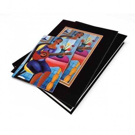 """Guitar Player"" Gift Set, artwork by Fritzner Alphonse"