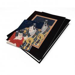"""""""Kabuki Scene"""" Japanese Wood Block Print"""