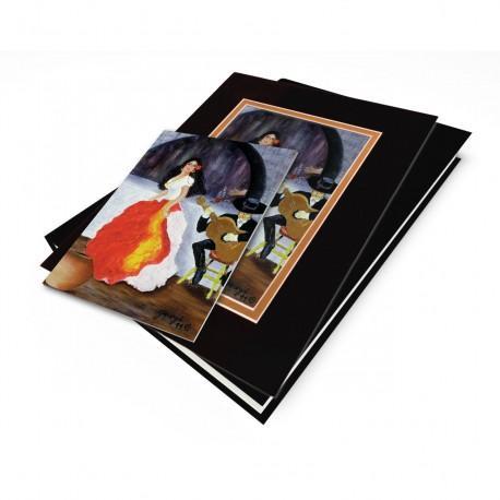 """""""Passion de Flamenco"""" Gift Set, artwork by Georgi"""