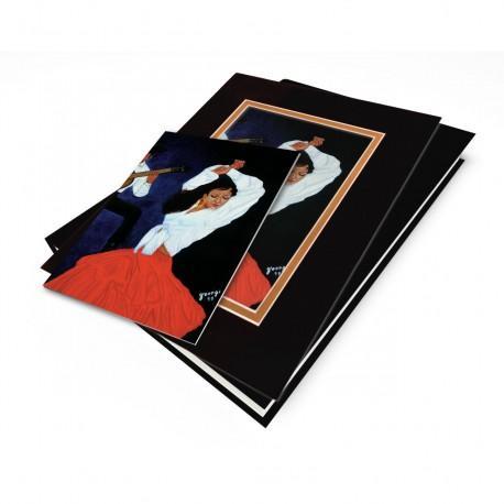 """Flamenca Dance"" Gift Set, artwork by Georgi"