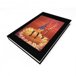 """April Sunflower"" Blank Journal"