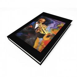 """Cool Jazz"" Blank Journal"