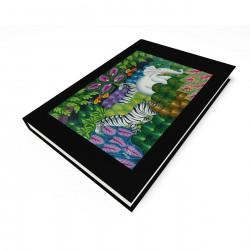 """""""Jungle Scene"""" Journal, art by Joel Gautier"""