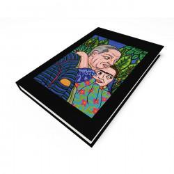 """Diego & Frida"" Journal, art by Hector Guerra"