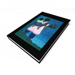 """Flower Vendor"" Journal, art by VICO"