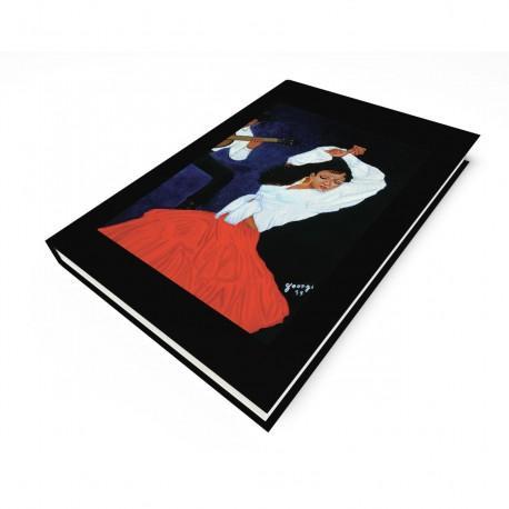 """Flamenca Dance"" Journal, art by Georgi"