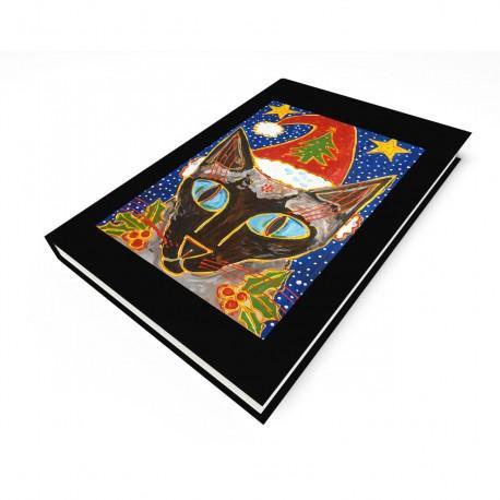 """""""Yule Tide Mollie"""" Journal, art by Tony DiAngelis"""