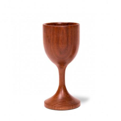 Hand Carved Wood Tulip Cups