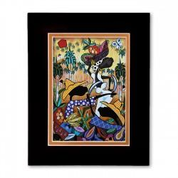 """The Harvest"" Matted Print, art by Ronald Espinosa"