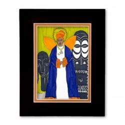 """""""Guardian Ancestor"""" Matted Print, art by Aileen Ishmael"""