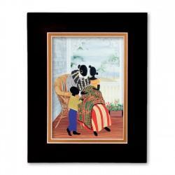 """""""Grandma's Children"""" Matted Print, art by Bryan Greene"""