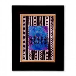 """""""The Gatherers"""" Matted Print, art by Charles Grant"""