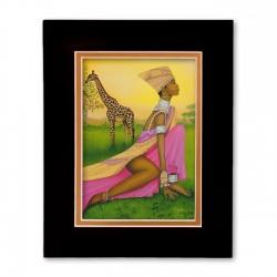 """""""Majestic Majesty"""" Matted Print, art by Dexter Griffin"""