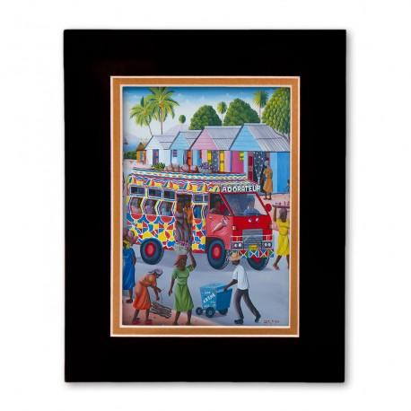 """""""Tap Tap"""" Matted Print, art by Fritz Merise"""