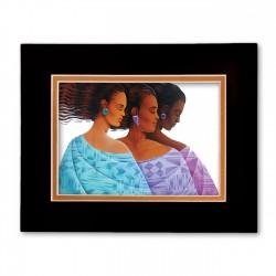 """Harmony"" Matted Print, art by Keith Mallet"