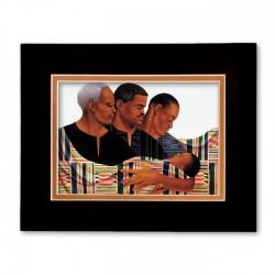 """Circle of Pride"" Matted Print, art by Keith Mallet"