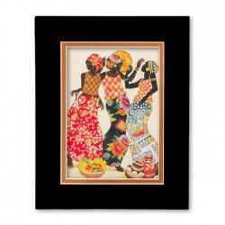 """Jubilation"" Matted Print, art by Keith Mallet"