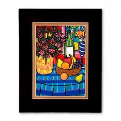 """Still Life"" Matted Print, art by Hector Guerra"