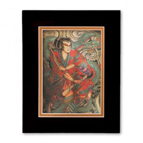 """Homage to Hori Yosi II"" Matted Print"
